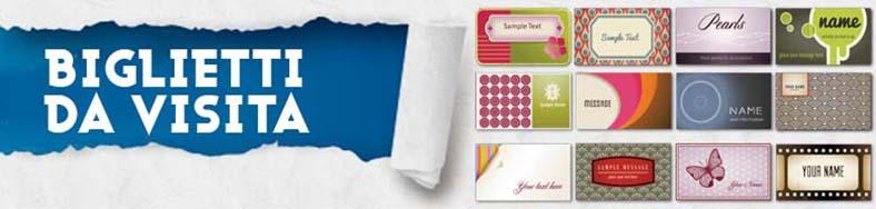 Stampa bigliettidavisita volantini pieghevoli for Parati plastificati
