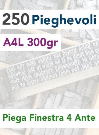 250 Pieghevoli A4L