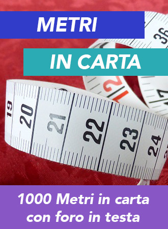 1000 Metri in carta